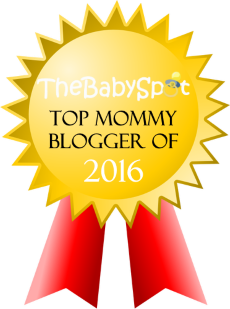 The Baby Spot Top 100 Mommy Bloggers badge